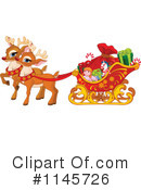 Royalty-Free (RF) Reindeer Clipart Illustration #1145726