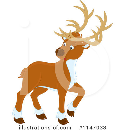Reindeer Clipart #1147033 by Alex Bannykh