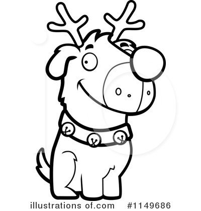 Rudolph Clipart #1149686 by Cory Thoman