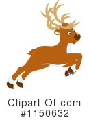 Royalty-Free (RF) Reindeer Clipart Illustration #1150632