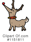 Royalty-Free (RF) Reindeer Clipart Illustration #1151811
