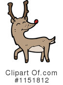 Royalty-Free (RF) Reindeer Clipart Illustration #1151812