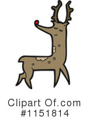 Royalty-Free (RF) Reindeer Clipart Illustration #1151814