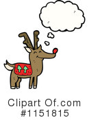 Royalty-Free (RF) Reindeer Clipart Illustration #1151815