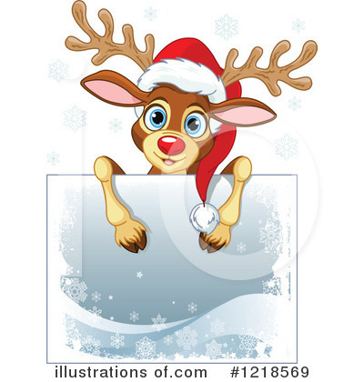 Reindeer Clipart #1218569 by Pushkin