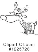 Reindeer Clipart #1226728 by toonaday