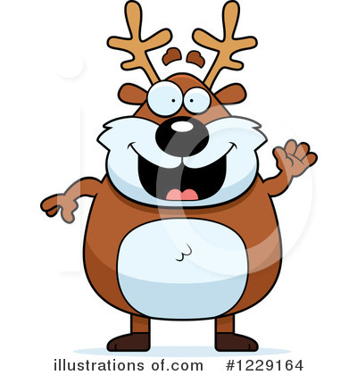Reindeer Clipart #1229164 by Cory Thoman
