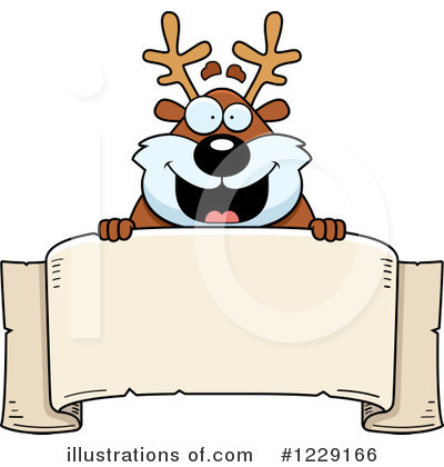 Reindeer Clipart #1229166 by Cory Thoman