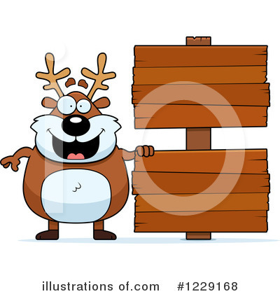 Reindeer Clipart #1229168 by Cory Thoman