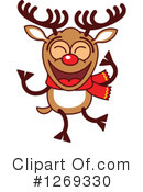 Royalty-Free (RF) Reindeer Clipart Illustration #1269330