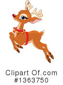 Royalty-Free (RF) Reindeer Clipart Illustration #1363750