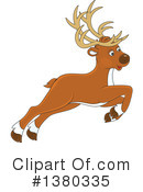 Reindeer Clipart #1380335 by Alex Bannykh