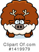 Reindeer Clipart #1419979 by Cory Thoman