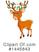 Royalty-Free (RF) Reindeer Clipart Illustration #1445843