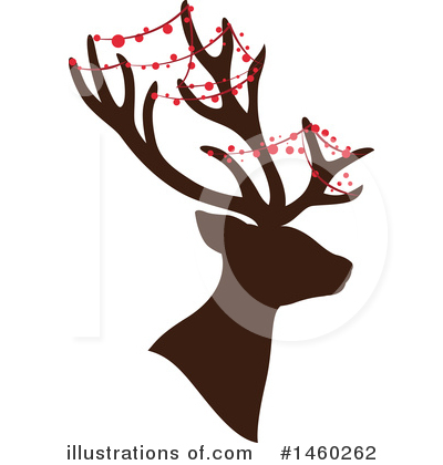 Reindeer Clipart #1460262 by Cherie Reve
