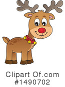 Royalty-Free (RF) Reindeer Clipart Illustration #1490702
