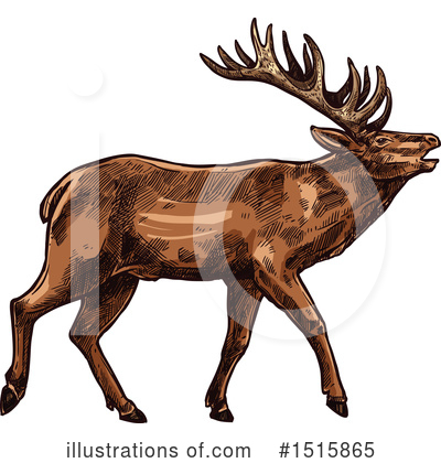 Deer Clipart #1515865 by Vector Tradition SM