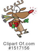 Reindeer Clipart #1517156 by toonaday