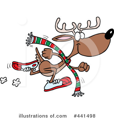 Reindeer Clipart #441498 by toonaday