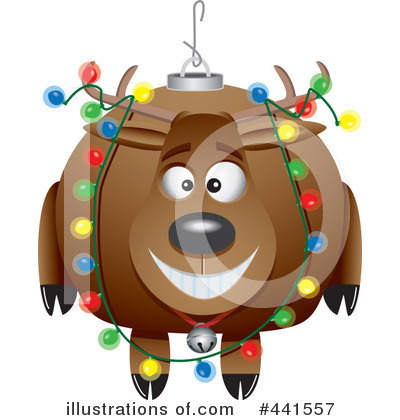 Reindeer Clipart #441557 by toonaday