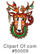 Reindeer Clipart #50009 by LoopyLand