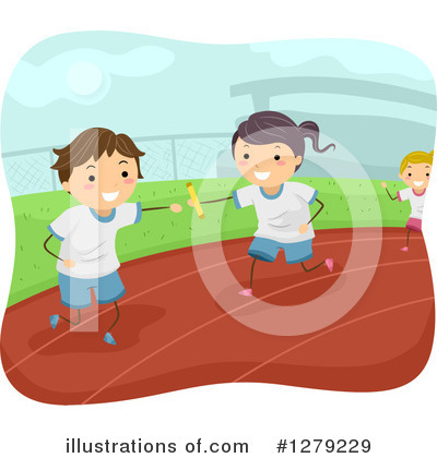 Track And Field Clipart #1279229 by BNP Design Studio