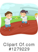 Relay Race Clipart #1279229 by BNP Design Studio
