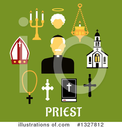 Royalty-Free (RF) Religion Clipart Illustration by Vector Tradition SM - Stock Sample #1327812