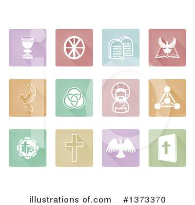 Christian Icons Clipart #1373370 by AtStockIllustration