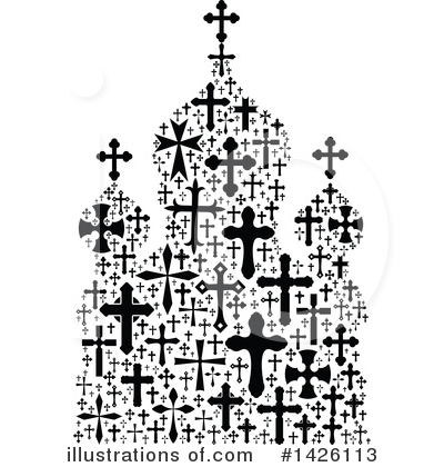 Cross Clipart #1426113 by Vector Tradition SM