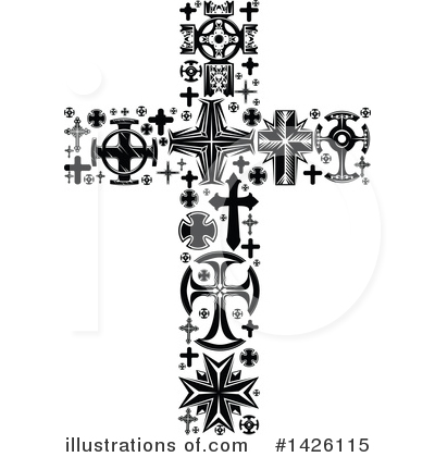 Cross Clipart #1426115 by Vector Tradition SM