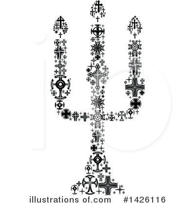 Cross Clipart #1426116 by Vector Tradition SM