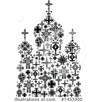 Cross Clipart #1433305 by Vector Tradition SM
