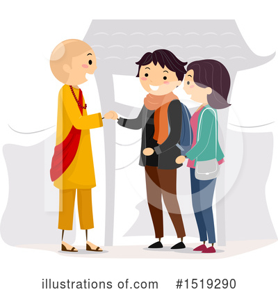 Handshake Clipart #1519290 by BNP Design Studio