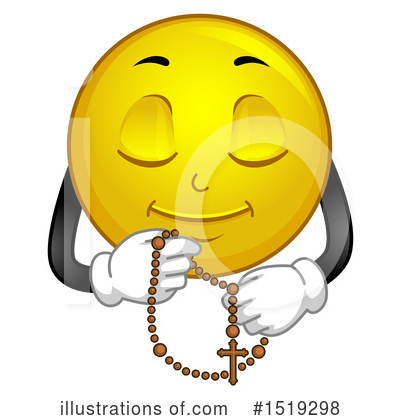 Praying Clipart #1519298 by BNP Design Studio