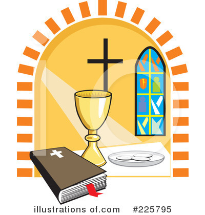 Communion Clipart #225795 by David Rey