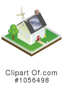 Royalty-Free (RF) Renewable Energy Clipart Illustration #1056498