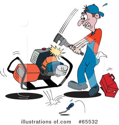 Repair Clipart #65532 - Illustration by Dennis Holmes Designs