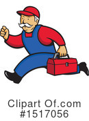 Repair Man Clipart #1517056