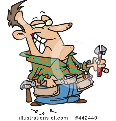 Repairs Clipart #442440 by toonaday