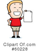Royalty-Free (RF) Report Card Clipart Illustration #60228