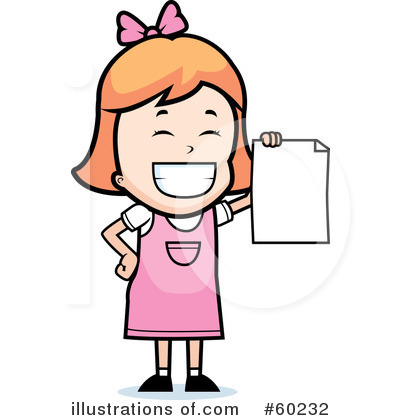 Royalty-Free (RF) Report Card Clipart Illustration by Cory Thoman - Stock Sample #60232
