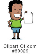 Royalty-Free (RF) Report Card Clipart Illustration #69029