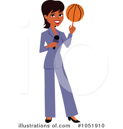 Reporter Clipart #1051910 by Monica