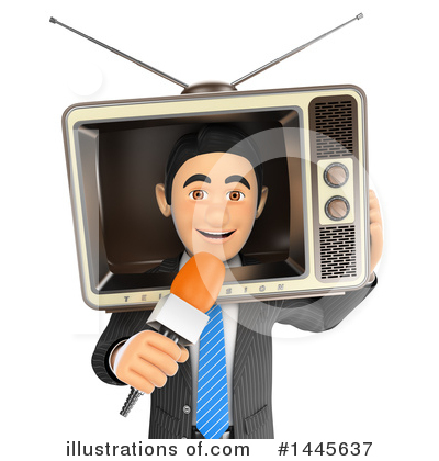 Reporter Clipart #1445637 by Texelart