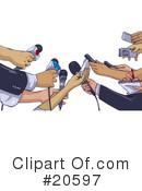 Reporter Clipart #20597 by Tonis Pan