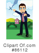 Royalty-Free (RF) Reporter Clipart Illustration #86112