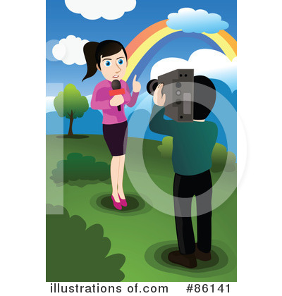 Reporter Clipart #86141 by mayawizard101