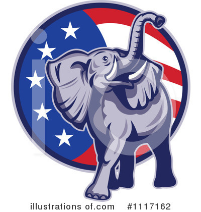 Elephant Clipart #1117162 by patrimonio