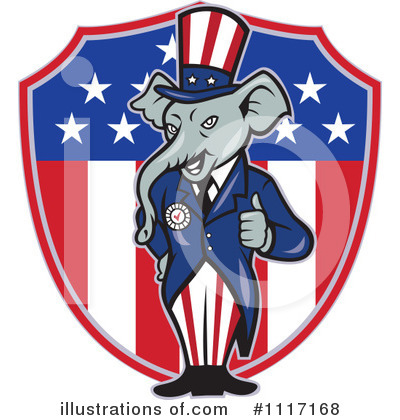 Republican Clipart #1117168 by patrimonio